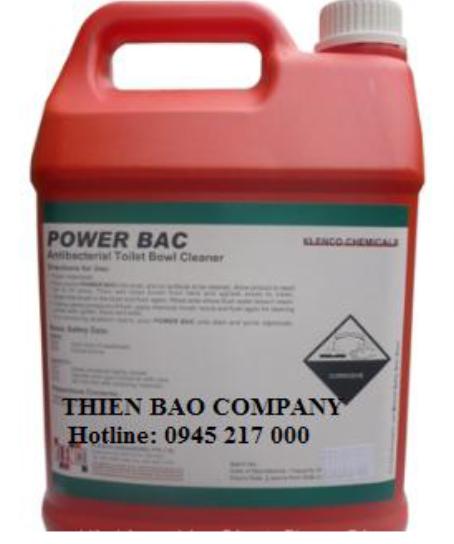Power Bac  (Hoá chất làm sạch toilet)