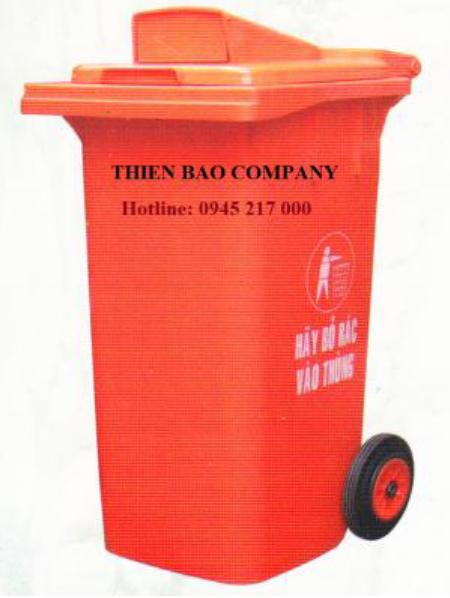 Thùng rác MGB-240 (Nắp hở)